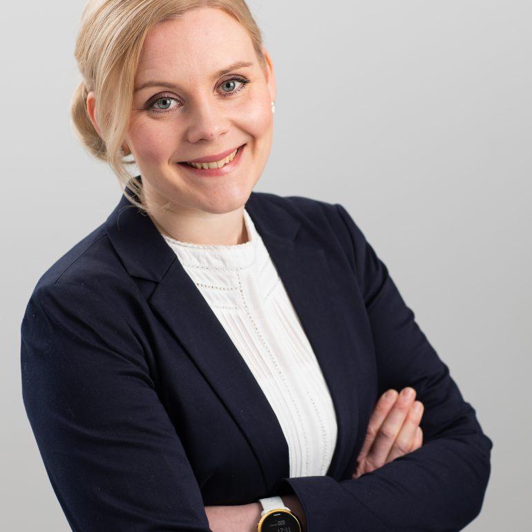 Laura Niittymäen henkilökuva.